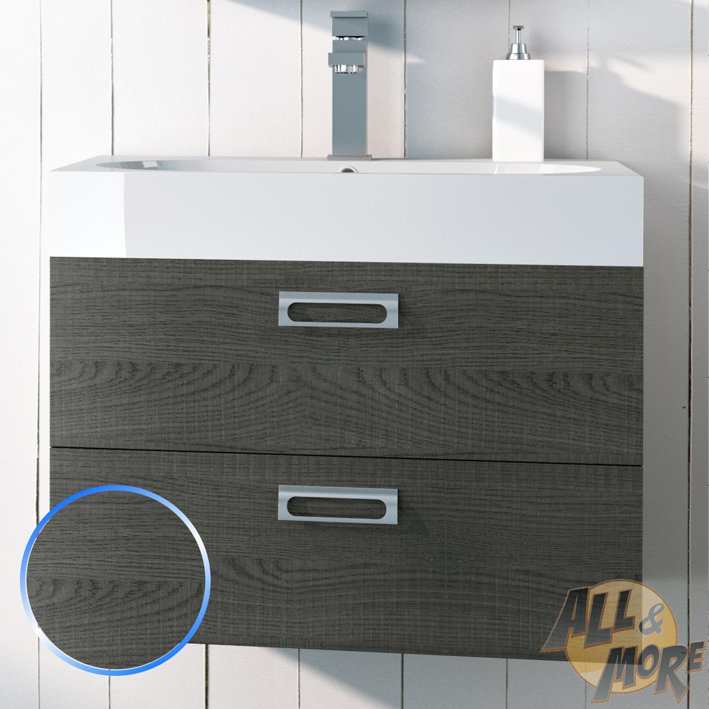 Base mobile da bagno 60 cm sospeso arredo moderno design - Mobile bagno sospeso 60 cm ...