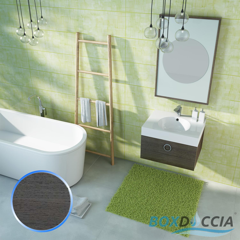 Bathroom Furniture 600mm Set Wall Hung Cabinet Vanity Unit Countertop Basin Sink Ebay