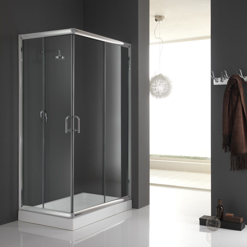duschkabine dusche glas eckeinstieg 70x70 70x90 70x100 80x80 80x100 80x120 90x90 ebay. Black Bedroom Furniture Sets. Home Design Ideas