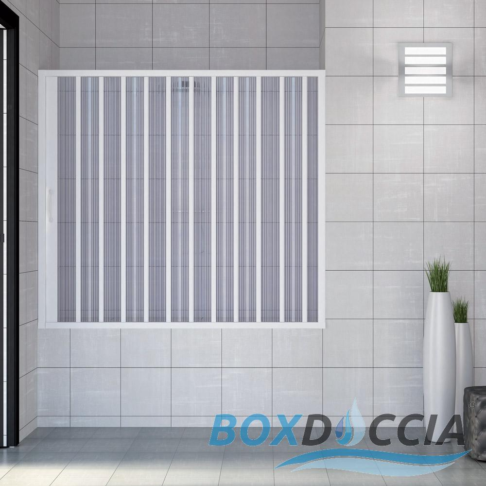 pare baignoire cabine paroi douche pliante plastique pvc couleurs sur mesure ebay. Black Bedroom Furniture Sets. Home Design Ideas