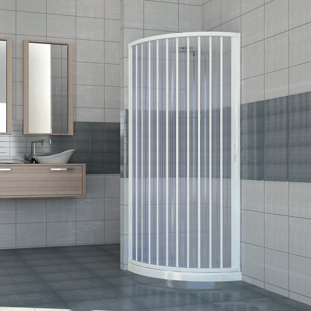 cabine paroi de douche en plastique pvc scorpione 90x90 avec ouverture lat rale ebay. Black Bedroom Furniture Sets. Home Design Ideas