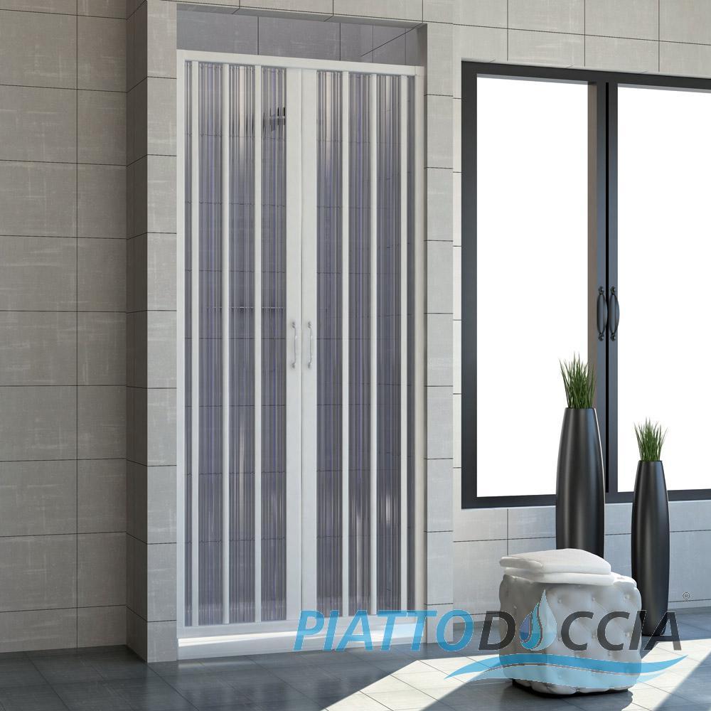 Cabine paroi porte de douche niche pliante plastique pvc couleurs sur mesure - Porte douche plastique ...