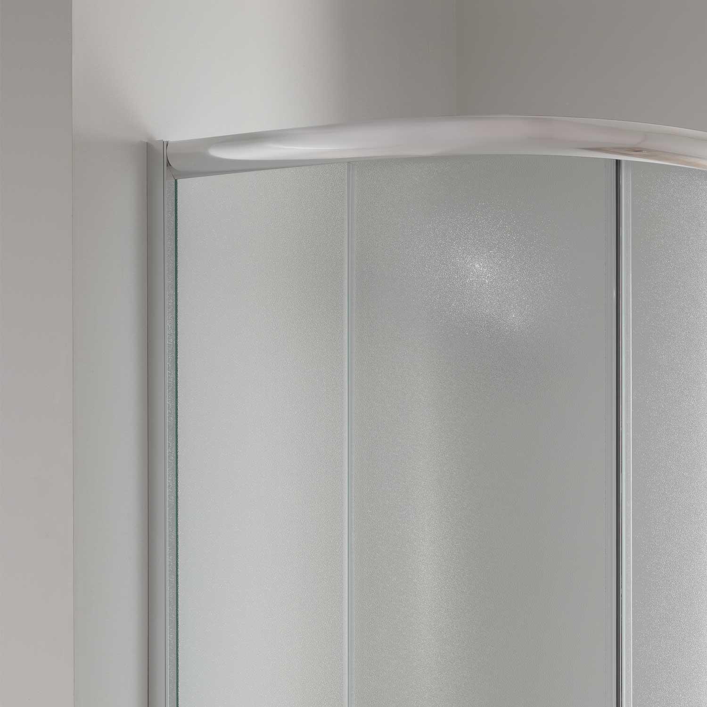 duschkabine duschabtrennung 90x90 h185 echtglas matt glas. Black Bedroom Furniture Sets. Home Design Ideas