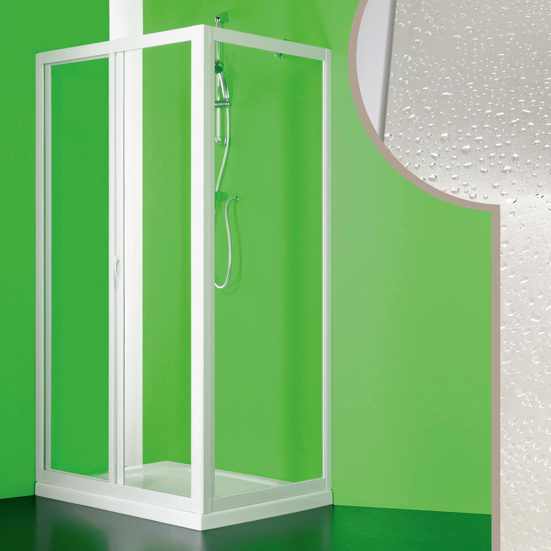 Cabine douche 80x150cm angulaire en pvc crilex acrylique 1 for Fenetre 80x150