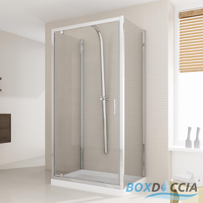 duschkabine dusche duschabtrennung u form glas schwenkt r. Black Bedroom Furniture Sets. Home Design Ideas