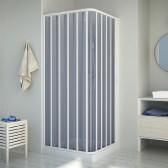 Duschkabine in PVC mod. Energy mit seitlicher Öffnung