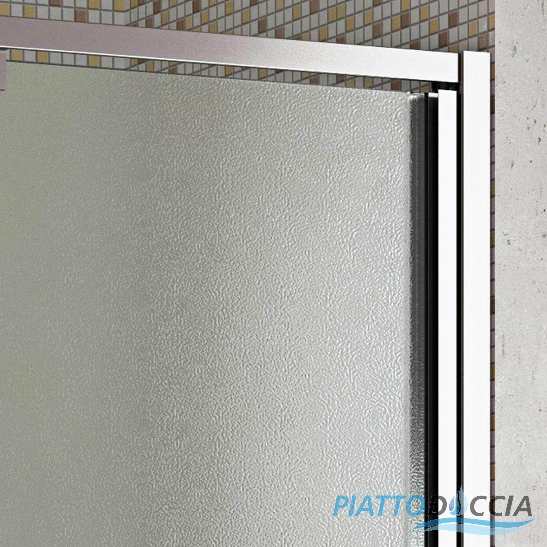 cabine paroi porte douche niche 75 h200 cm opaquet bain verre pivotante. Black Bedroom Furniture Sets. Home Design Ideas