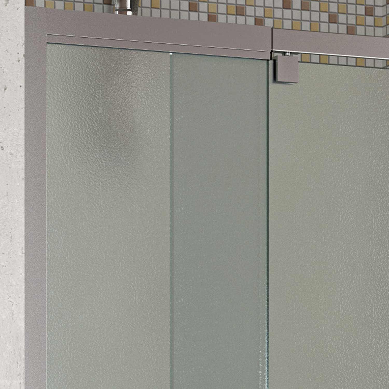 cabine paroi porte douche niche 75 h200 cm opaquet bain verre pivotante ebay. Black Bedroom Furniture Sets. Home Design Ideas