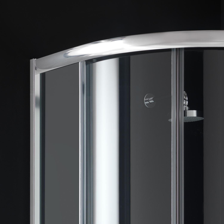 duschkabine 90x90 echt glas h185 duschabtrennung dusche rund halbkreis dusche ebay. Black Bedroom Furniture Sets. Home Design Ideas
