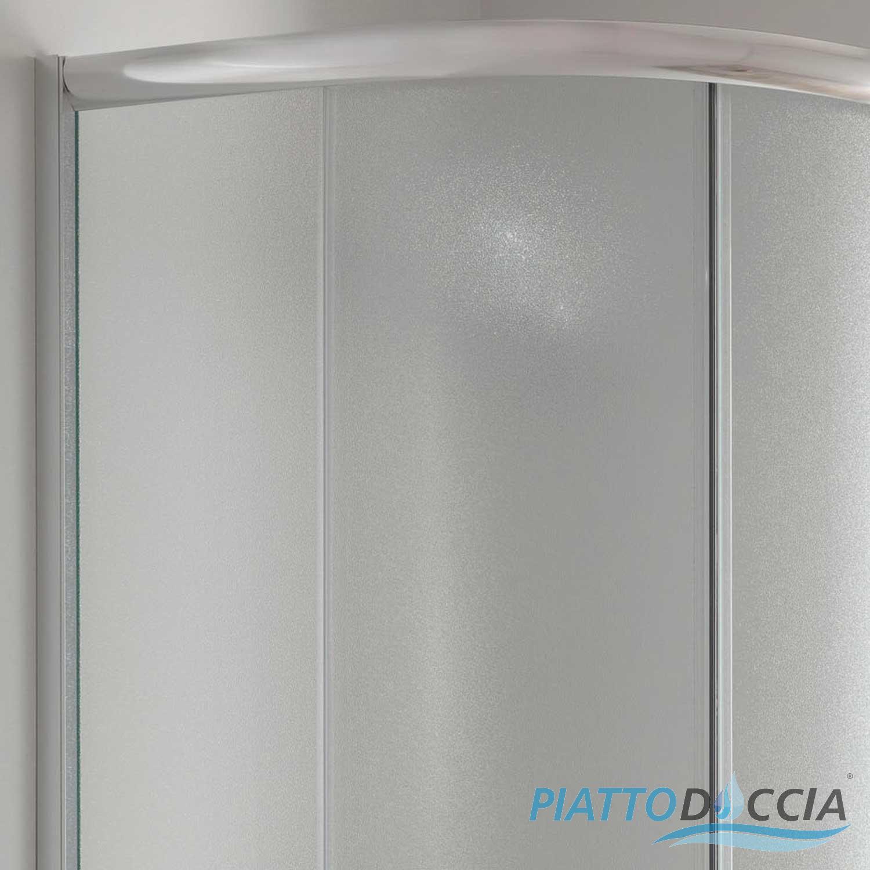 duschkabine duschabtrennung 80x80 h185 echtglas matt glas. Black Bedroom Furniture Sets. Home Design Ideas