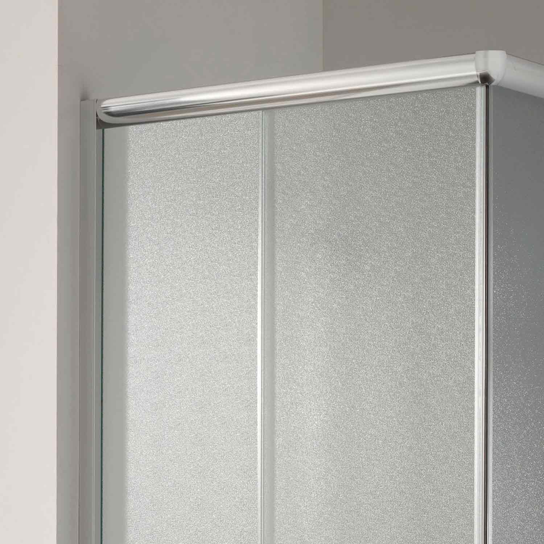 duschkabine duschabtrennung duschwand matt glas schiebet r 90x70 rechteck h185 ebay. Black Bedroom Furniture Sets. Home Design Ideas