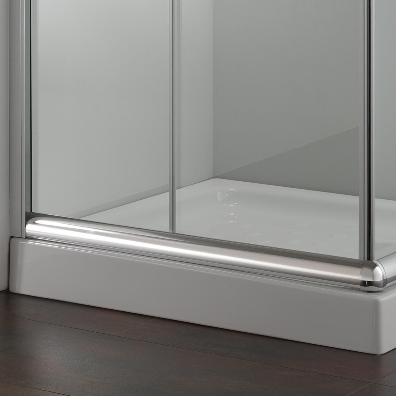 duschkabine duschabtrennung duschwand echtglas schiebet r 90x70 rechteck h200 ebay. Black Bedroom Furniture Sets. Home Design Ideas