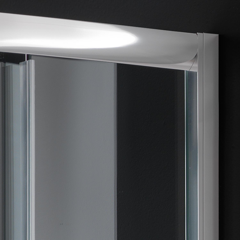 duschkabine duschabtrennung 90x90 h185 echtglas klarglas. Black Bedroom Furniture Sets. Home Design Ideas