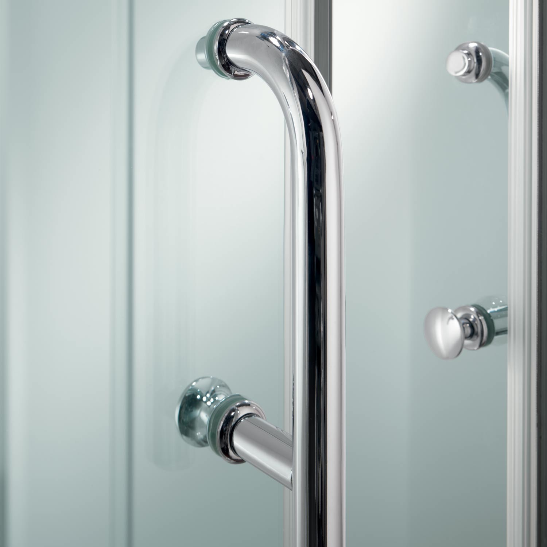 Cabine paroi douche 70x90 h200 cm transparent angulaire verre italienne - Paroi douche italienne 70 cm ...
