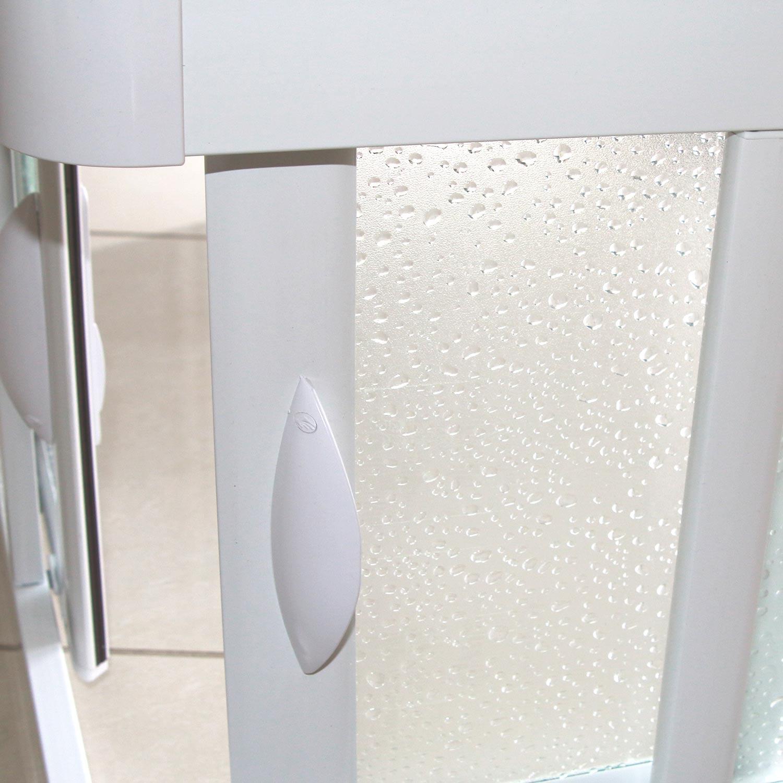 cabine douche pare baignoire 70x160cm angulaire en pvc. Black Bedroom Furniture Sets. Home Design Ideas