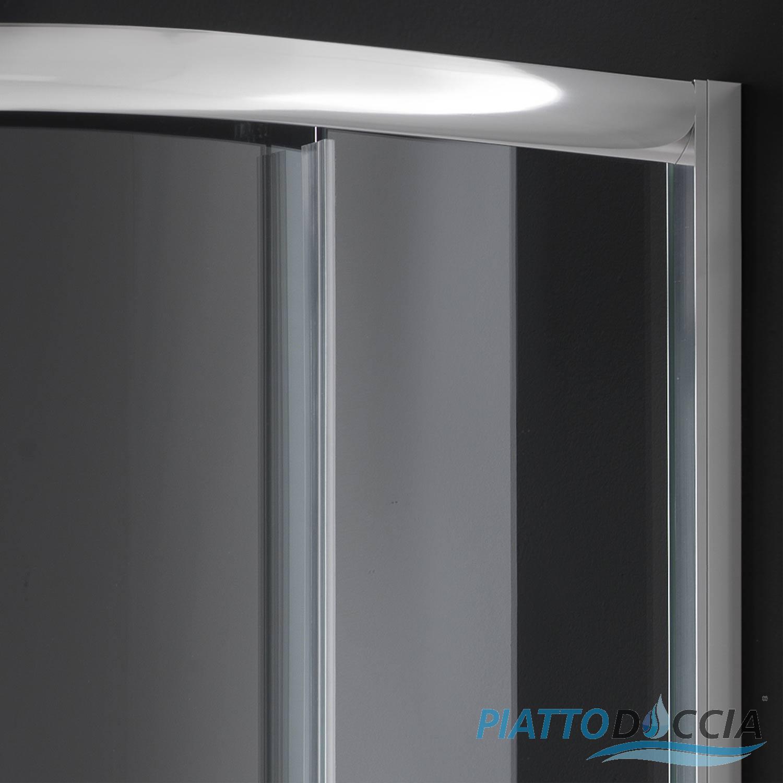 duschkabine duschabtrennung 90x90 h200 echtglas klarglas. Black Bedroom Furniture Sets. Home Design Ideas