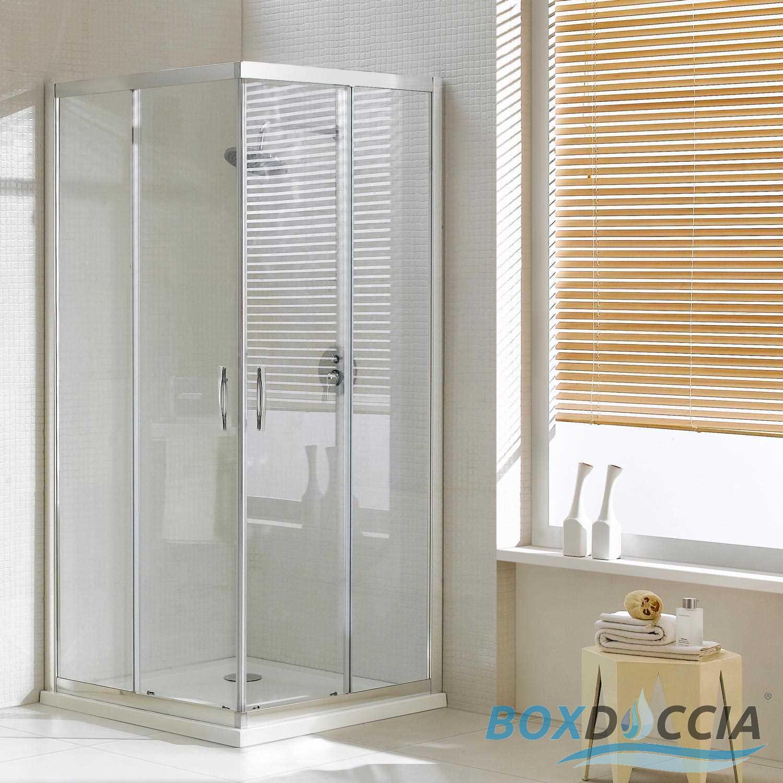 paroi cabine de douche ouverture angulaire carr rectangle verre coulissant ebay. Black Bedroom Furniture Sets. Home Design Ideas