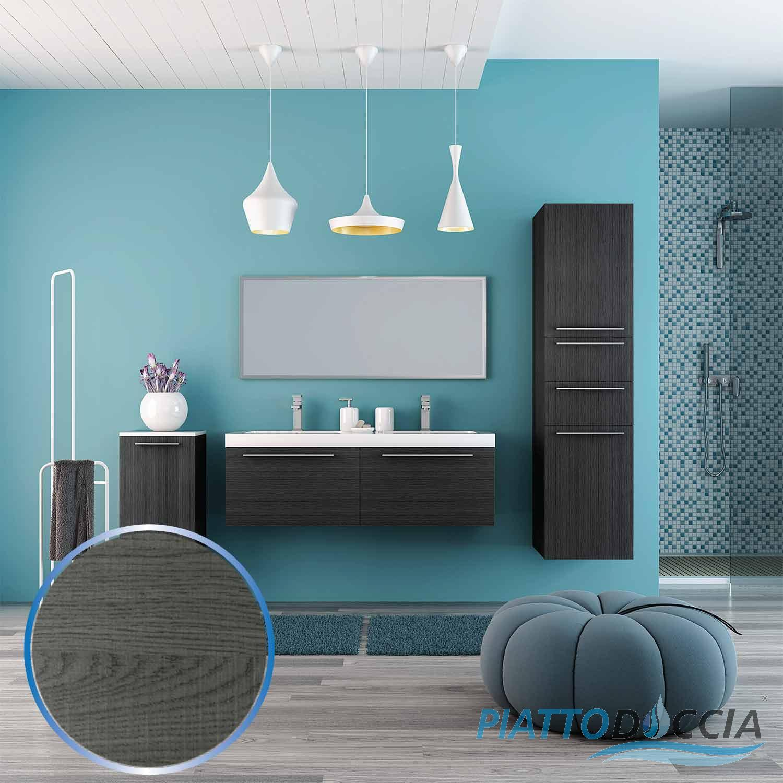 badm bel set badezimmer waschtisch bad m bel 120 cm 4 farben doppelwaschtisch ebay. Black Bedroom Furniture Sets. Home Design Ideas