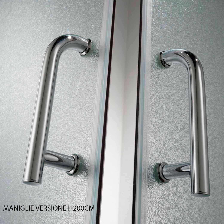 Duschkabine dusche glas eckeinstieg 70x70 70x90 70x100 for Fenster 70x90