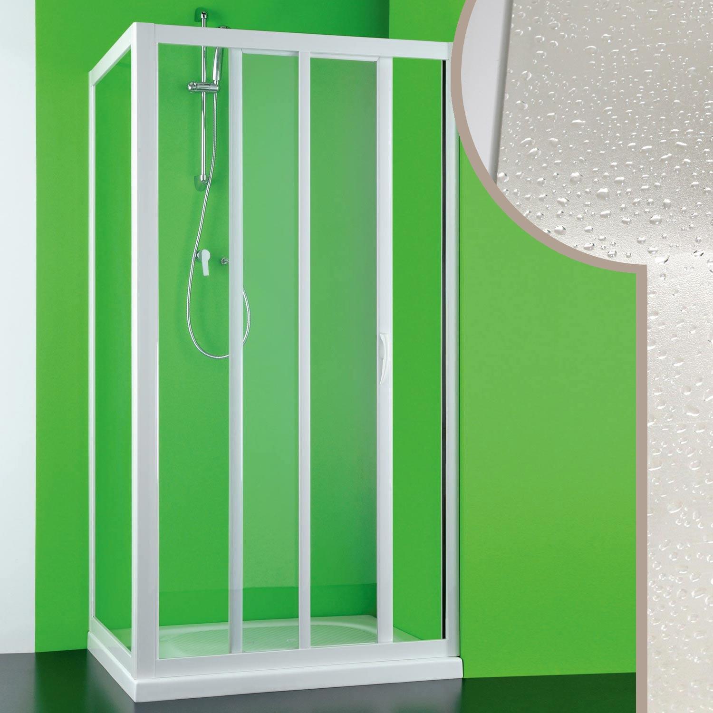 cabine douche 75x110cm en pvc crilex acrylique 1 porte laterale. Black Bedroom Furniture Sets. Home Design Ideas