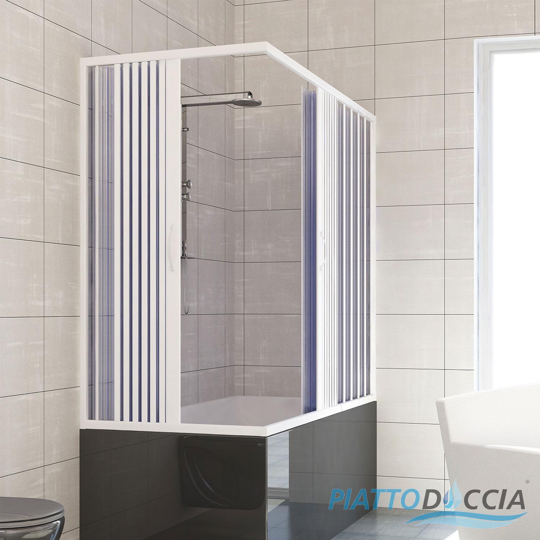 pare baignoire cabine pliante paroi douche plastique pvc couleurs sur mesure ebay. Black Bedroom Furniture Sets. Home Design Ideas