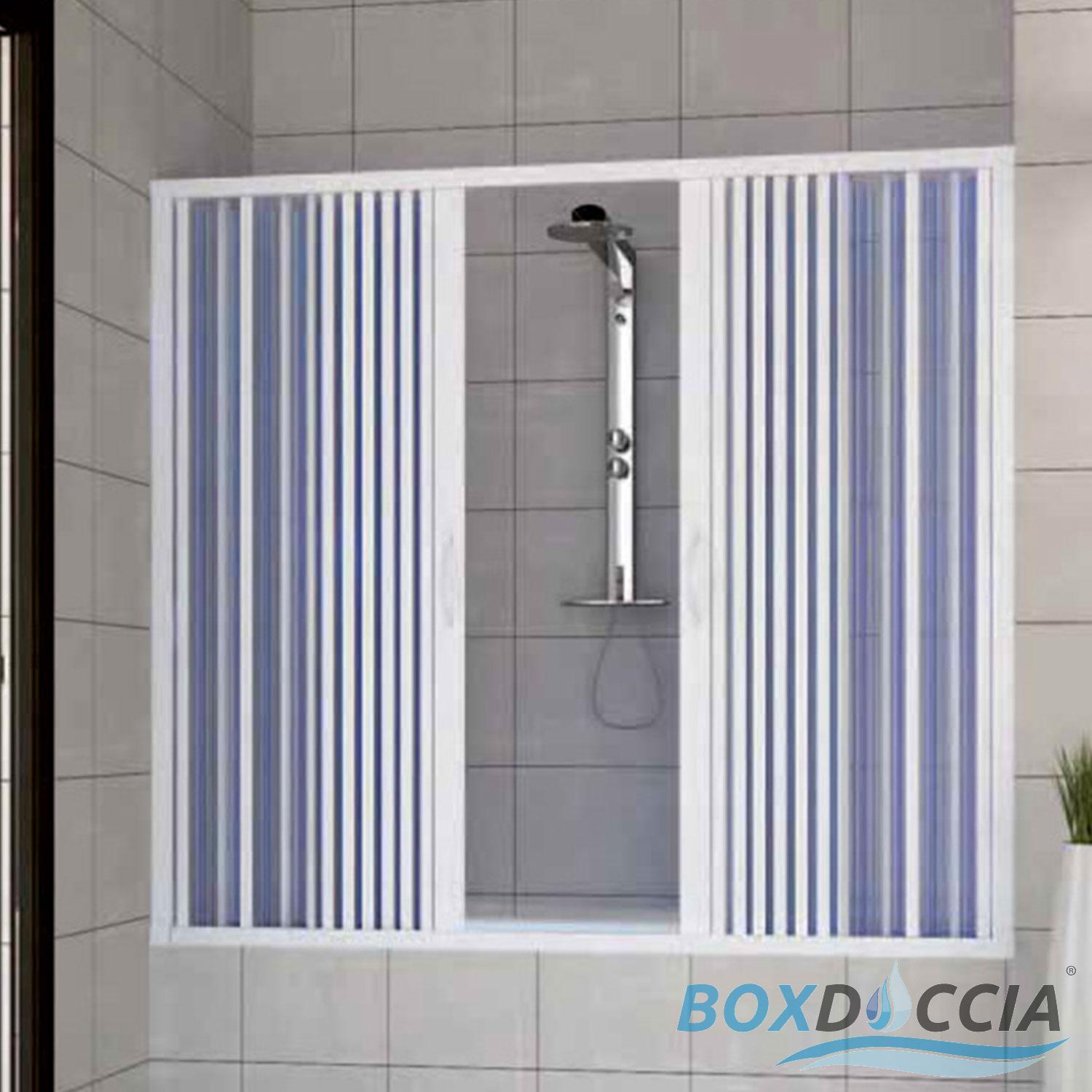 pare baignoire cabine paroi douche plastique pliante pvc 14 couleurs sur mesure ebay. Black Bedroom Furniture Sets. Home Design Ideas