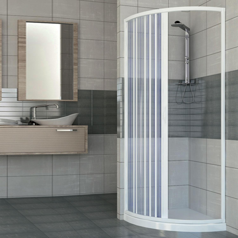 Duschkabine duschabtrennung eckeinstieg halb viertel kreis - Falttur mit fenster ...