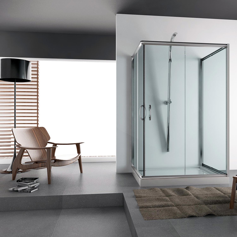 duschkabine dusche glas eckeinstieg 70x70 70x90 70x100 80x80 80x100 80x120 90x90 ebay. Black Bedroom Furniture Sets. Home Design Ideas