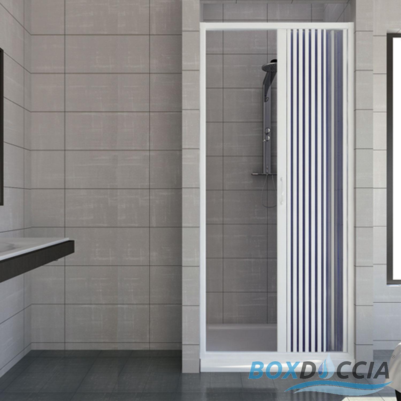 Cabine paroi porte de douche niche pliante plastique pvc 14 couleurs sur mesure ebay Porte cabine de douche
