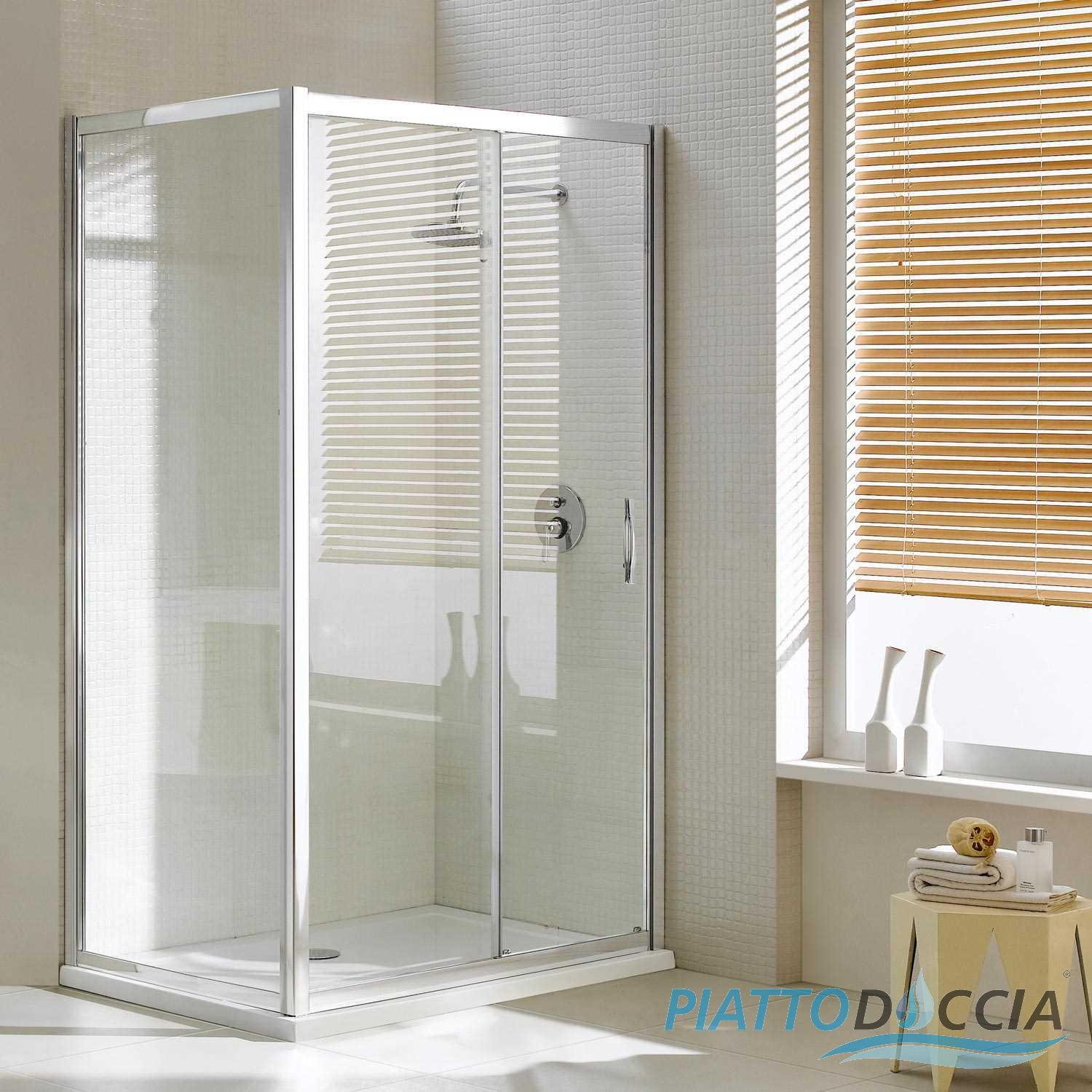 paroi cabine de douche angulaire ouverture 1 verre coulissante carr italienne ebay. Black Bedroom Furniture Sets. Home Design Ideas