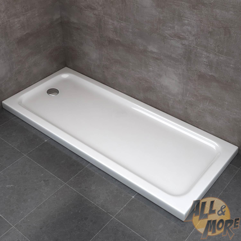 Piatto Doccia Kit Sostituzione Vasca Da Bagno Acrilico 5 Cm Flat 70x170 Bianco Ebay