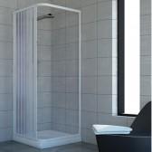 Box doccia in PVC mod. Acquario con apertura laterale