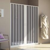 Porta doccia in PVC mod. Aura con apertura centrale