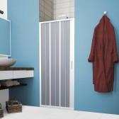 Porta Doccia in PVC mod. Flex 1 Anta con Apertura Laterale