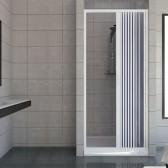 Porta doccia in PVC mod. Vergine con apertura laterale