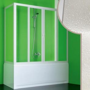 Box doccia sopravasca in Acrilico mod. Plutone 2 con apertura centrale