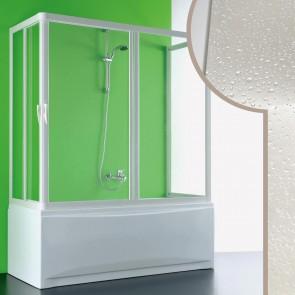 Box doccia 3 lati sopravasca in Acrilico mod. Nettuno con apertura centrale