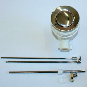 Sifone in plastica con sistema di apertura a saltarello