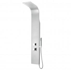 Colonna idromassaggio in alluminio 140x20 cm mod. Niagara